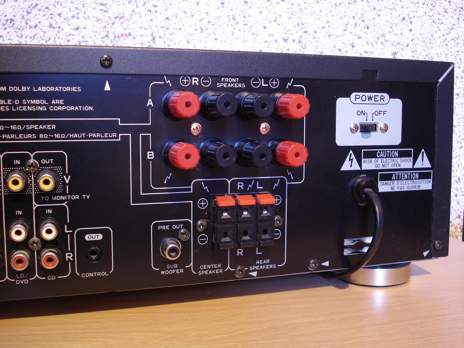 Pioneer vsx 405rds mkii vsx mkii pioneer 405rds fandeluxe Choice Image